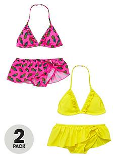 v-by-very-girls-bright-frill-bikinis-2-pack