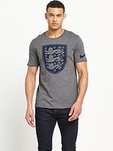 Nike Mens England Crest Tee