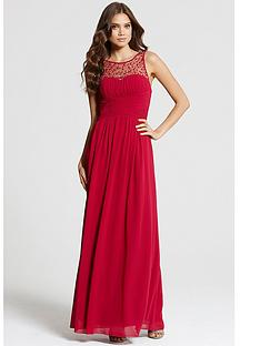 little-mistress-embellished-neck-maxi-dressnbsp