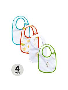 ladybird-baby-unisex-chick-bibs-4-pack