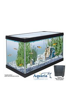 lotus-aquaria-fish-tank-start-up-kit-25ltrs-including-pump-and-filter