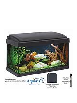 Aquaria Fish Tank Set 60 - 57ltrs including LED Lighting, 50 Watt Heater, Pump and Filter