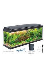 Aquaria Fish Tank Set 100 - 93ltrs including LED Lighting, 100 Watt Heater, Pump and Filter