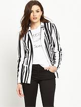 Printed Jersey Blazer