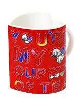Me to You Heart Shaped Mug & Plush Keyring