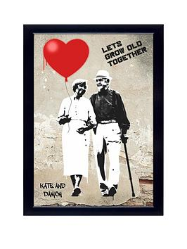 personalised-lets-grow-old-together-poster