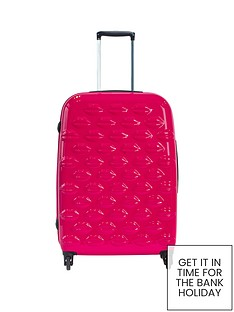 lulu-guinness-hard-sided-4-wheel-lips-medium-case