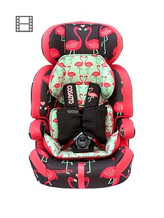 Cosatto Zoomi Group 123 Car Seat - Flamingo Fling