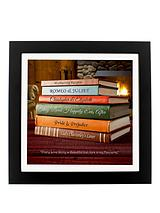 Personalised Love Story Framed Print