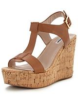 Kier Leather Wedge Sandal