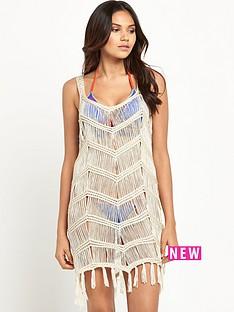 v-by-very-crochet-tassel-beach-vest-dressnbsp