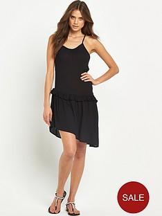 v-by-very-asymmetric-crinkle-beach-dress