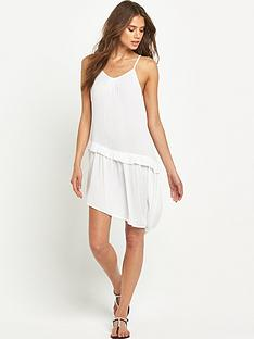 v-by-very-asymmetric-crinkle-beach-dress