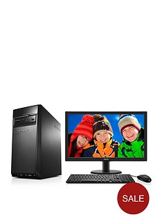 lenovo-300-intelreg-coretrade-i5-processor-8gb-ram-2tb-hard-drive-236-inch-desktop-base-unit-with-optional-1-years-subscription-to-microsoft-office-365-personal-black