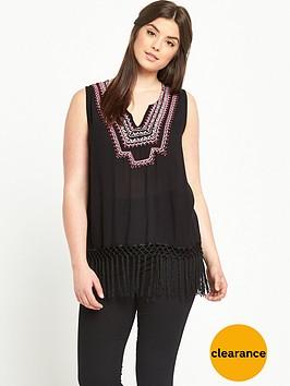 v-by-very-curve-embroidered-fringe-hem-top