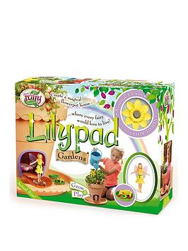Photo of My fairy garden lilypad flowerpot house gardens