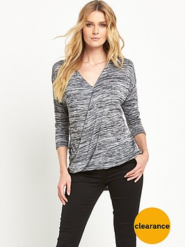 wallis-knit-wrap-top