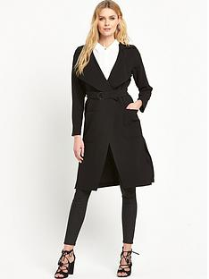 wallis-crepe-belted-trench-coatnbsp