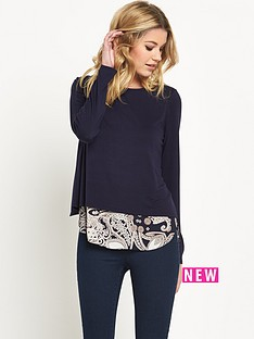wallis-wallis-paisley-2-in-1-jumper