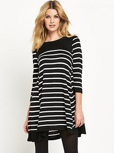 wallis-stripe-swing-dress