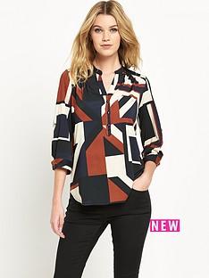 wallis-abstract-geo-print-shirt