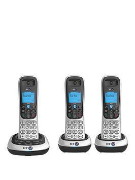 bt-2600-trio-cordless-telephone-with-answering-machine