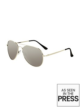 v-by-very-metal-frame-aviator-sunglasses