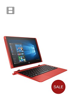 hp-pavilion-x2-10-n102nanbspintelreg-atomtrade-x5-processor-2gb-ram-32gb-storage-101-inch-touchscreen-2-in-1-laptop-includes-microsoft-office-mobilenbspndash-red