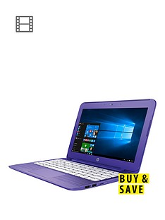hp-stream-11-r001na-intelreg-celeronreg-processor-2gb-ram-32gb-emmc-ssd-116-inch-laptop-with-optional-microsoft-office-purple