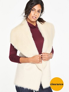 v-by-very-suedette-faux-fur-knitted-giletnbsp