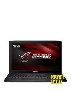 asus-rog-gl552vw-dm201t-intelreg-coretrade-i7-processor-8gb-ram-1tb-hard-drive-amp-256gb-ssd-156-inch-pc-gaming-laptop-withnbspnvidia-gtx960mnbspgraphics-black
