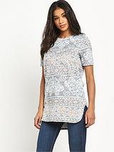 Jacquard Printed T-Shirt