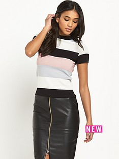 river-island-stripe-turtle-neck-top