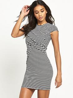 river-island-striped-bodycon-dress