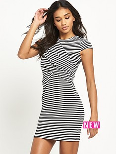 river-island-striped-bodycon-dress