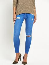 Molly Skinny Mid Rise Jeans