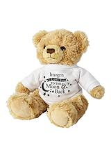 Personalised 'To The Moon & Back' Bear