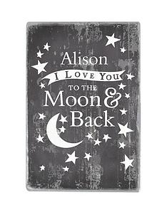 personalised-to-the-moon-amp-back-metal-wall-sign