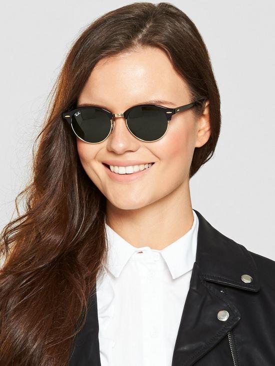 ced7422fbf2e Ray-Ban Clubround Sunglasses | very.co.uk