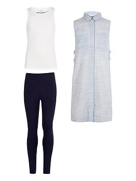 river-island-girls-tabard-vest-and-leggings-set
