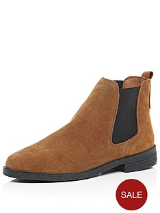 river-island-damien-suede-flat-chelsea-boot
