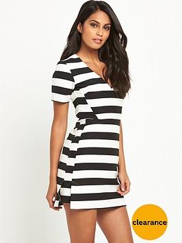 v-by-very-stripe-a-line-dress