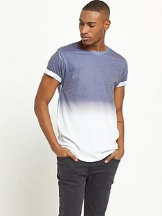river-island-navy-faded-print-mens-t-shirt