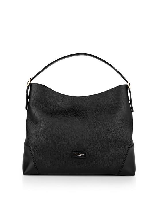 d9919e1e50 ASPINAL OF LONDON A Hobo Bag - Black