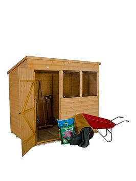 forest-7-x-5ft-single-door-2-windows-shiplap-dip-treated-pent-shed-with-optional-assembly