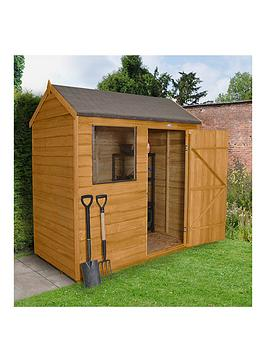 forest-6x4ft-value-overlap-reverse-apex-shed-with-optional-base-and-assembly