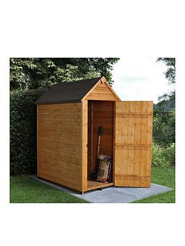 forest-3-x-5ft-single-door-overlap-dip-treated-apex-shed-with-optional-assembly