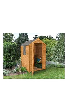 forest-6x4ft-value-overlap-apex-shed-with-optional-base-and-assembly