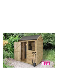 forest-4-x-6ft-sinlge-door-1-window-overlap-pressure-treated-reverse-apex-shed-with-optional-assembly