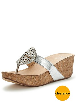 moda-in-pelle-zanettienbsplow-wedge-embellished-sandalsnbsp